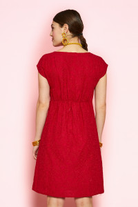 Marie Embroidered Dress