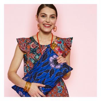 La passion des imprimés ethniques! 🌍 • • • Our passion for ethnic prints! 🌍