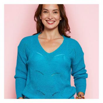 Pull BOHÈME, vous l'aimez en turquoise?💎 • • • BOHÈME jumper, do you like it in turquoise?💎