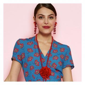 Fabriqué en France et tissu exclusif Antoine & Lili! 🇫🇷 • • • Made in France and an exclusive Antoine & Lili fabric!🇫🇷