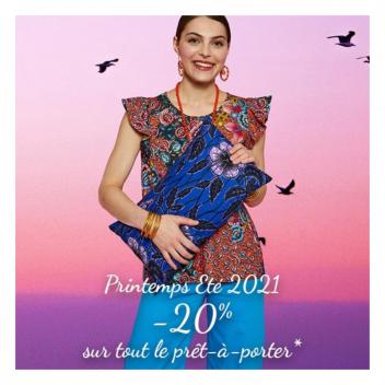 💞VENDREDI 11 & SAMEDI 12 💞 Collection printemps été 2021 -20% sur tout le prêt-à-porter* *hors promotions en cours et petits prix, hors accessoires, bijoux,  souliers, décoration et enfant, hors Genève et Lausane